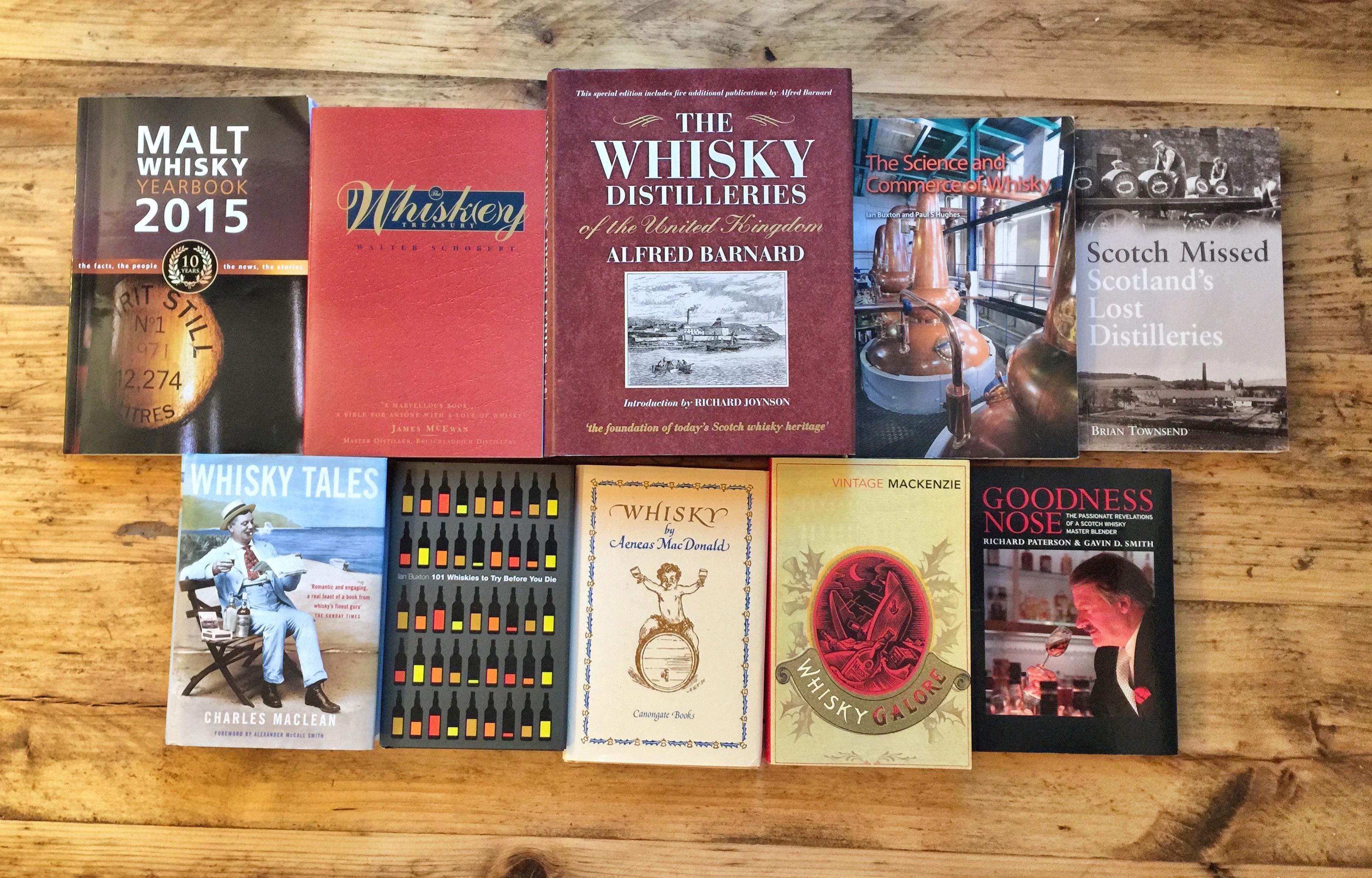 whisky-books
